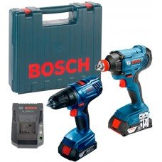 Набор электроинструмента Bosch GDX 180-LI Plus GSR 180-LI Professional (06019G5222)