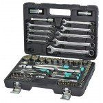"""Набор инструмента  Whirlpower 84ед. 1/2-1/4"""" 10-32мм+ ключи и бити EAN=4714994657831"""