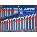 Набор ключей гаечных            King Tony 1226 MR