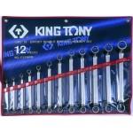 Набор ключей гаечных            King Tony 1712 MR EAN=4710591933354