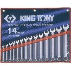 Набор ключей комбинированный 6-32 мм 15 ед чехол