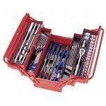 Набір інструмента 62 од. 10-32 мет. ящик на 5 відділень