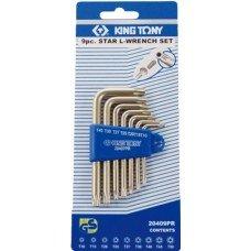 Набор шестигранных ключей            King Tony 20407 PR
