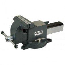 Тиски STANLEY MaxSteel слесарные поворотные 100 мм